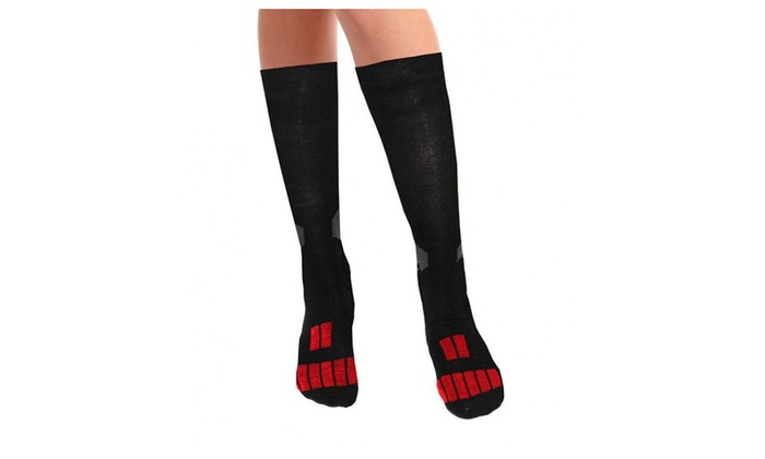 3-Pack Cool Max Basketball Compression Socks