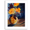 Canna by Sheila Golden  Limited Edition Canvas Rolled Art