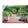 David Lloyd Glover The Beautiful Italian Garden Canvas Print