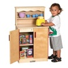 ECR4Kids Birch Play Kitchen - Cupboard