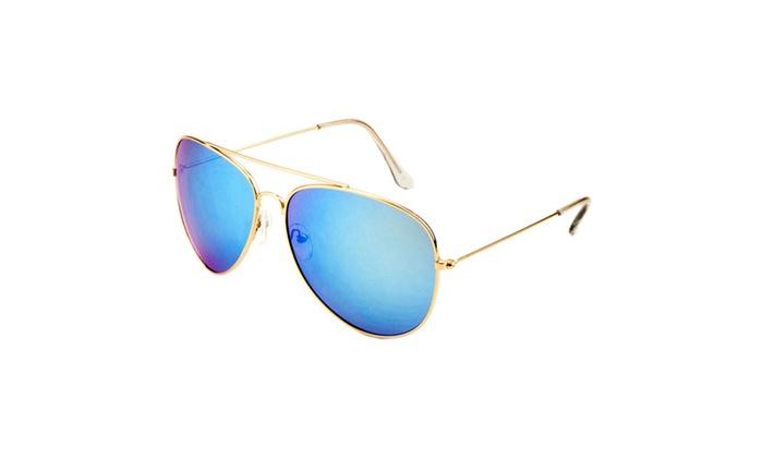 MLC Eyewear Juan Double Bridge Aviator Sunglasses