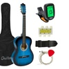 Acoustic Guitar With Guitar Case-Strap-Tuner-Pick For New Beginners