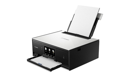 Canon TS9020 Wireless AIO Printer W/Scanner & Copier White New 6c1deab7-a409-4b47-bcb1-2731337421a0