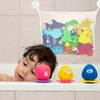 Bath Toy Organizer Mesh Bag Pouch with Suctions