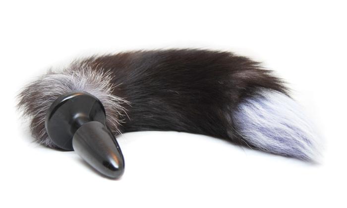 fox tail butt plug | groupon