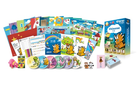 Chinese for kids Deluxe set, 6 DVD set, Flashcard set, Books and Posters