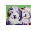 Pat Saunders-White Litter Mates Canvas Print