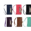 Shockproof Credit Card Holder with Zipper Wallet Cover for iPhone X