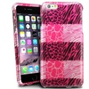 Insten For iPhone 6 Plus Hard Rubberized Cover Case Pink Exotic Skins