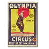 Dudley Hardy Bertram Mills Circus 1922 Canvas Print
