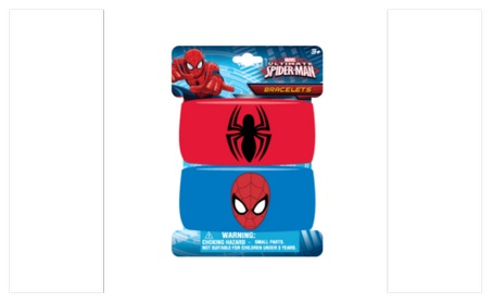 Ultimate Spiderman Embroidered Wristband Bracelets for Kids 478f1fa7-5ba9-4140-9793-ae6252eb75c3