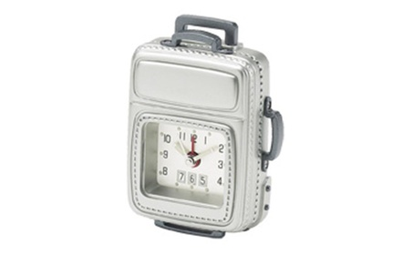 Chass 81118 Carry on Luggage Alarm Clock 4c004907-7481-409b-9862-7a69730bf952