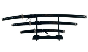 Dragon Samurai Sword Set (4-Piece)