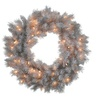 """42"""" Silver White Wreath with 150CL"""