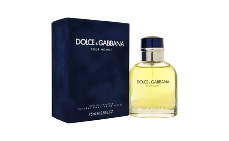 Dolce & Gabbana by Dolce & Gabbana for Men - 2.5 oz EDT Spray 5deeb664-ad4c-4709-9363-effa9d04465f