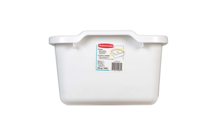 Rubbermaid Home White Dishpan
