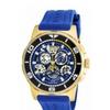 Invicta 18948 Reserve Quartz 3 Hand Black, Blue, Gold Dial Men's Watch
