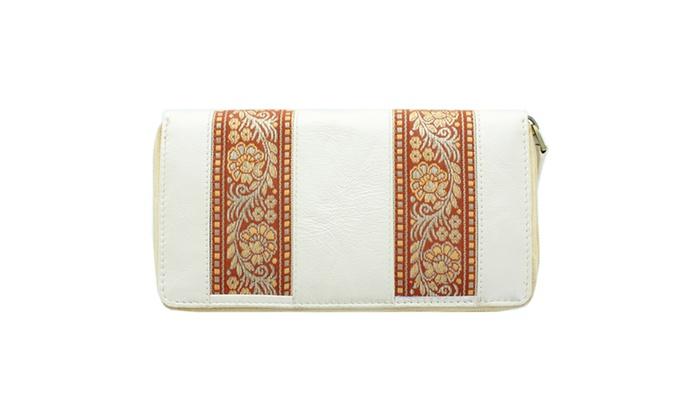 Women's Fashion Zip-around Wallet WLT-YL22
