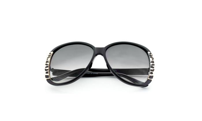 mlc eyewear accent fashion oversized frame sunglasses