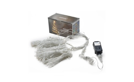 Curtain Lights 9.8ftx9.8ft Power Driver LED String Lights with 8 modes eacd016b-bfbd-4e42-8076-04664f165be5