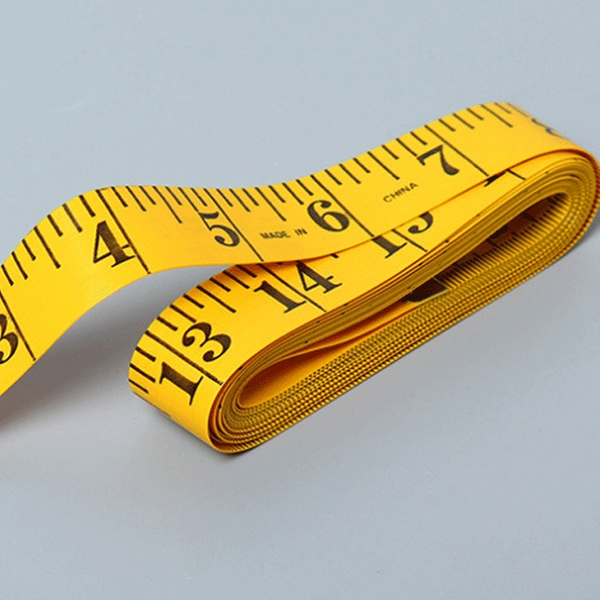"""120/"""" Body Measuring Ruler Sewing Cloth Tailor Tape Measure Seamstress Soft Flat`"""
