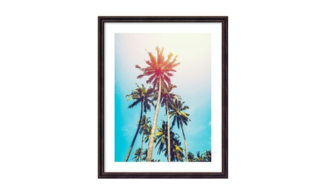 "Framed Art Print 'Palms in the Sun' by Tai Prints: Outer Size 24 x 30"" 65595c3a-16b7-4b91-8c7b-f61faaa53cd7"