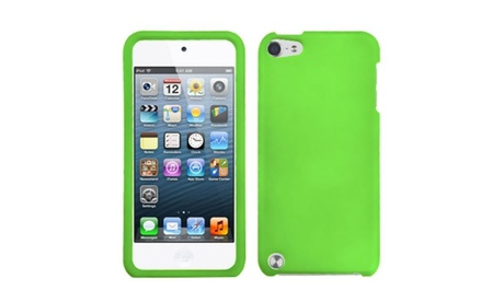 Insten Dr Green Protector Cover, Rubberized Case For iPod Touch 6 5 a52628f3-9e3b-4583-8924-2128b4fcc694