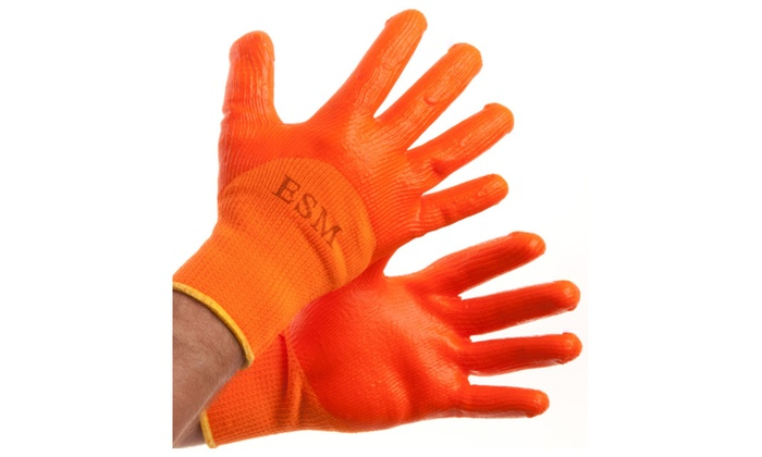 Heavy Weight PVC Construction Gloves