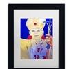 Lowell S.V. Devin 'Pope John Paul II' Matted Black Framed Art