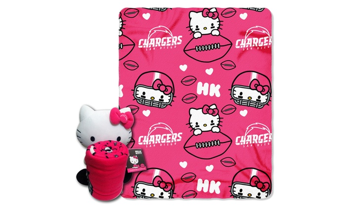 027 Chargers Hello Kitty  with Throw