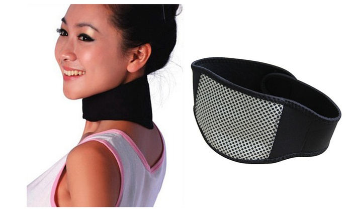 neck pain relief  Copper Infrared Magnetic Neck Pain Relief Therapy | Groupon