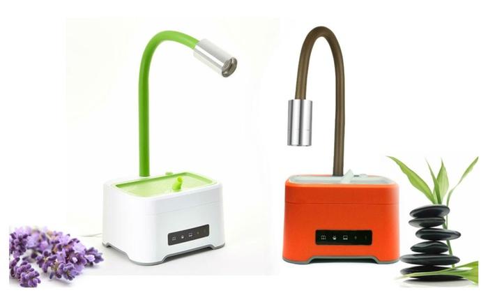 ZAQ Lumin Aromatherapy Essential Oil Diffuser Desk Lamp 300mL