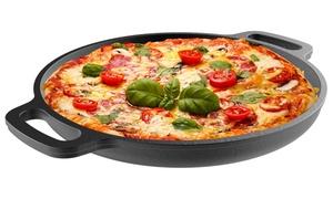 "Classic Cuisine 13.25"" Cast Iron Pizza Pan"