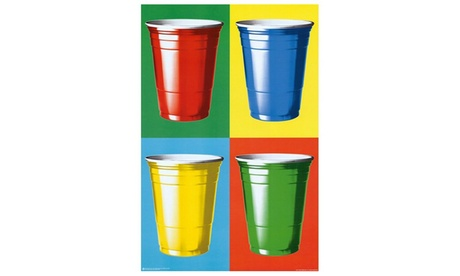 Party Cups Pop Art df76ec35-a3aa-4f32-90fb-6f8866807653