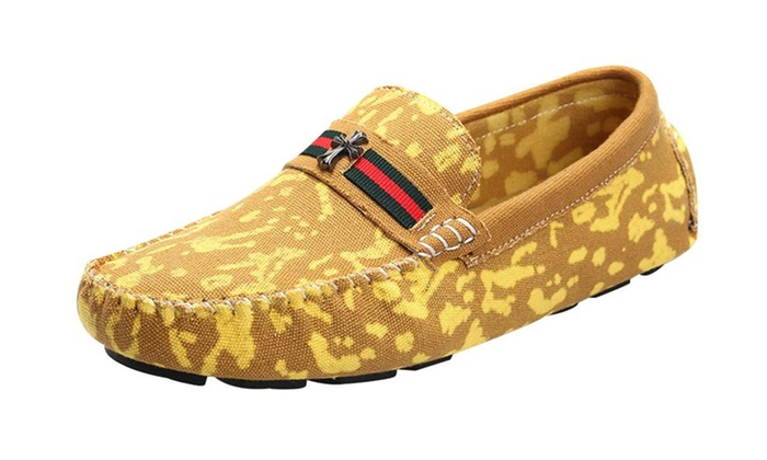 Men's Denim Loafers Shoes