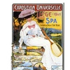 Exposition Universelle Liege Canvas Print 35 x 47