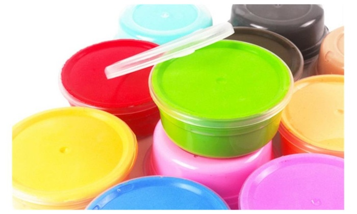 air dry clay 12 and 24 colors ultra light modeling clay magic
