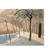 Felix Vallotton Snowy Landscape 1925 Canvas Print