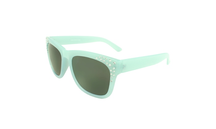 MLC EYEWEAR Bling Bling Retro Square Sunglasses