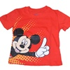 Official Licensed Disney Mickey Mouse Side Burst T-Shirt Toddler Red
