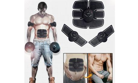 Premium Slim Design Six Patches Ab Muscle Stimulator for Men and Women 2e909007-0786-4d0e-b240-9513f0deac15