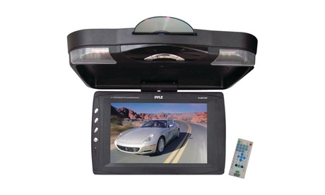 Pyle 12.1in Ceiling-Mount Lcd Monitor With Dvd Player 236a9bdf-8a52-42fc-9bc6-4ab7c1e96059