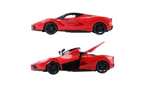 Red 1:16 Scale Remote Control RC Ferrari Speedy Style Sports Super Race Car