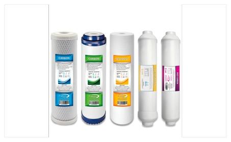 De-Ionization DI Replacement Filter Set 5 Total Filters Di Post Carbon dd5fd38b-b815-4e08-85c4-fe128f777c4e