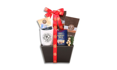 Coffee Bean & Tea Leaf Leather Gift Basket 4823bae4-3c4b-4aff-b0ca-4f1aeae5b0e5