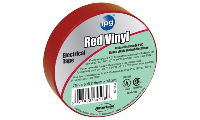 Elec Markng Tape Red