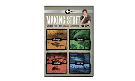 NOVA: Making Stuff DVD 6d2778b8-83b9-415c-8f0f-8a5932d16409