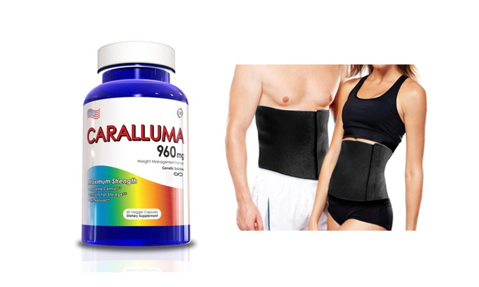 Buy It Now : Caralluma Fimbriata Weight Loss Supplement w/ Waist Trimmer