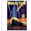 Worlds Fair-Chicago Canvas Print