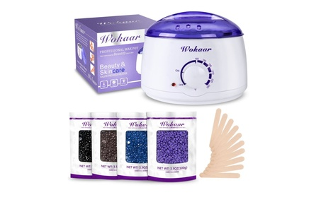 Rapid Melt Hair Removal Waxing Kit Electric Hot Wax Warmer a2e91190-6db9-4dec-b232-809d61c65973